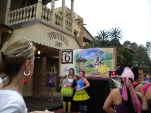 Mile 6 in Frontierland