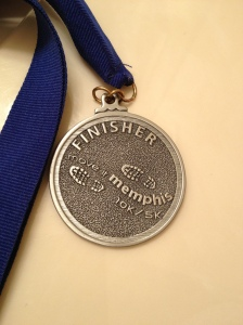 My very first race medal!