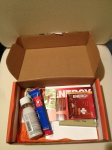 This is what the box looks like with all items inside.