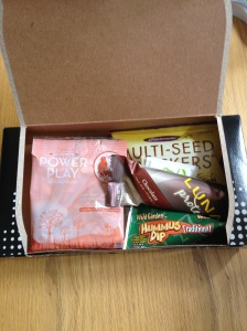 This is the 2012 Princess Half Marathon food box when opened.