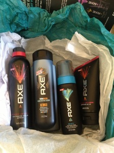 Contents of Axe Spiked-Up box
