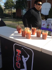 Bloody Marys--my favorite post race offering ever!