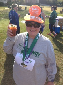 Having a great time at the Inaugural Fed Ex St. Jude Classic Fairway 5k
