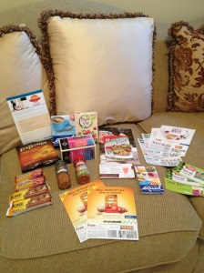 Contents of Cooking Light Fast Meals Cravebox