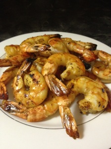 Grilled Drunken Barbeque Shrimp