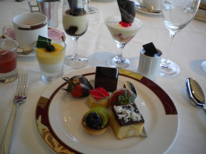 Desserts from Palo Brunch