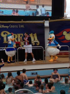 Donald and Daisy were excited for this event!