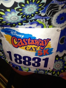We all got bibs, and they say runDisney!