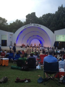 Free outdoor concert at Levitt Shell