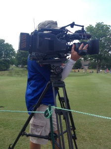 The Golf Channel Camera Man