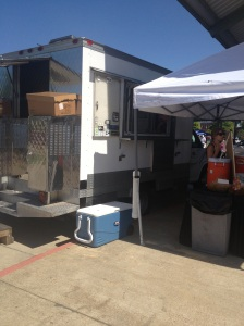 Fuel Truck at MFM sells a variety of tacos, burritos, quesadillas, and grilled cheese.