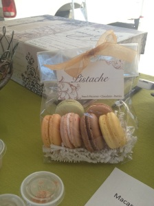 Beautiful macarons made by Pistache
