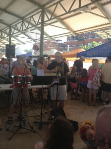 Live entertainment at the Memphis Farmers Market