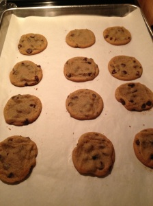 Fresh baked cookies for fire fighters