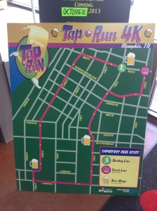 Tap N Run 4k Course Map