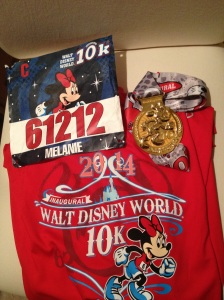 Love the shirt, bib and medal!