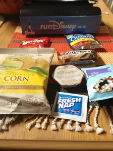 Minnie 10k runDisney food box
