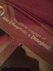 American Tourister is the official luggage of Disneyland and the Walt Disney World Resort.