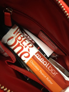 Fiber One Meal Bars are great for on the go.