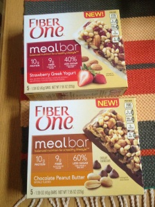 Fiber One Meal Bars