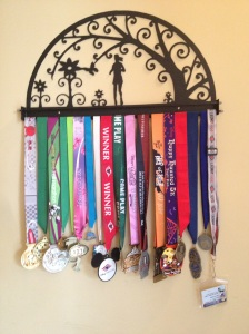 I've completed 5 half marathons and several other races of varying distances.