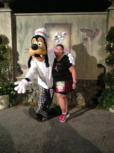 Me with Chef Goofy
