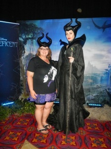 I met Maleficent!