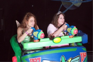 Will I ever get 999,999 on Buzz Lightyear's Space Ranger Spin?  Not this trip!
