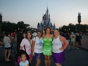 Me, Heather, Aimee, Katie, and Heather's daughter Hailey