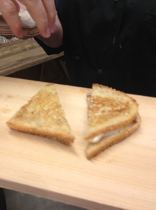 It may not look like much but this Blackberry Farm Grilled Cheese was a fave!