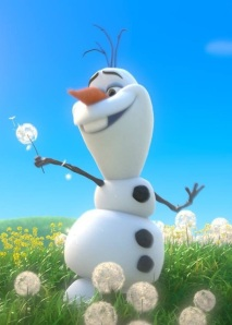 Olaf loves summer!