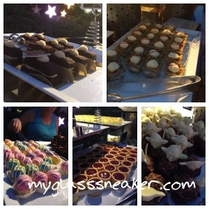 This is just a sampling of what they had.  I somehow missed getting a pic of the Darth Vader cupcake tray.