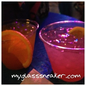 2 different adult beverage options
