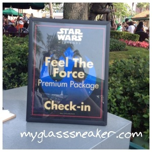 Feel the Force check in