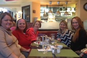Breakfast with Princess Posse friends at Maison