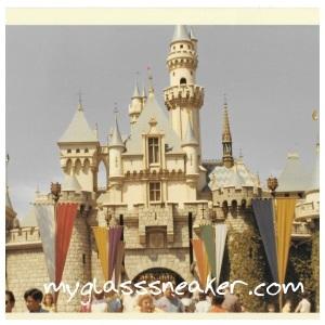 Disneyland's Sleeping Beauty Castle, 1966