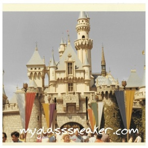 Disneyland's Sleeping Beauty Castle, 1966