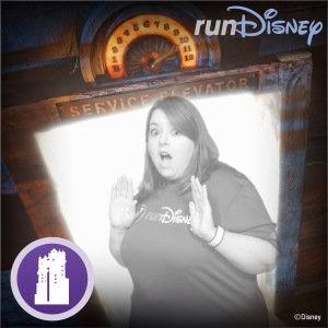 I love that runDisney offers these special photo ops for free.  You just have to show them you follow runDisney on Instagram.