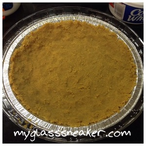 Nutter Butter cookie crust