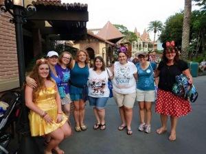 Magic Kingdom before the family cruise