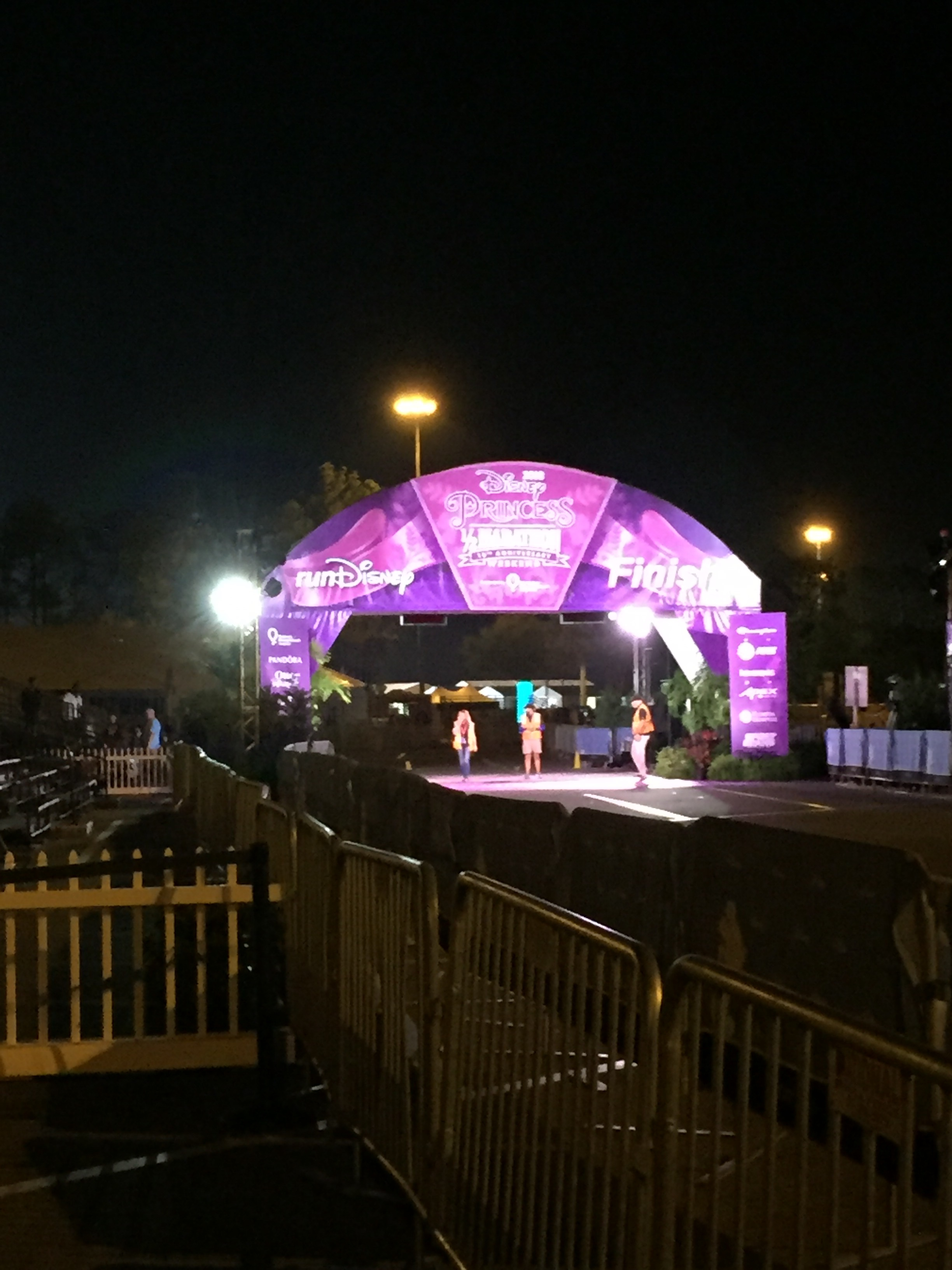 Disney Princess Half Marathon Finish Line