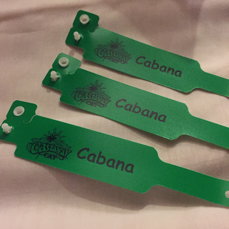 Castaway Cay Cabana Wristbands