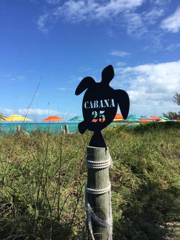 Cabana 22 Sign