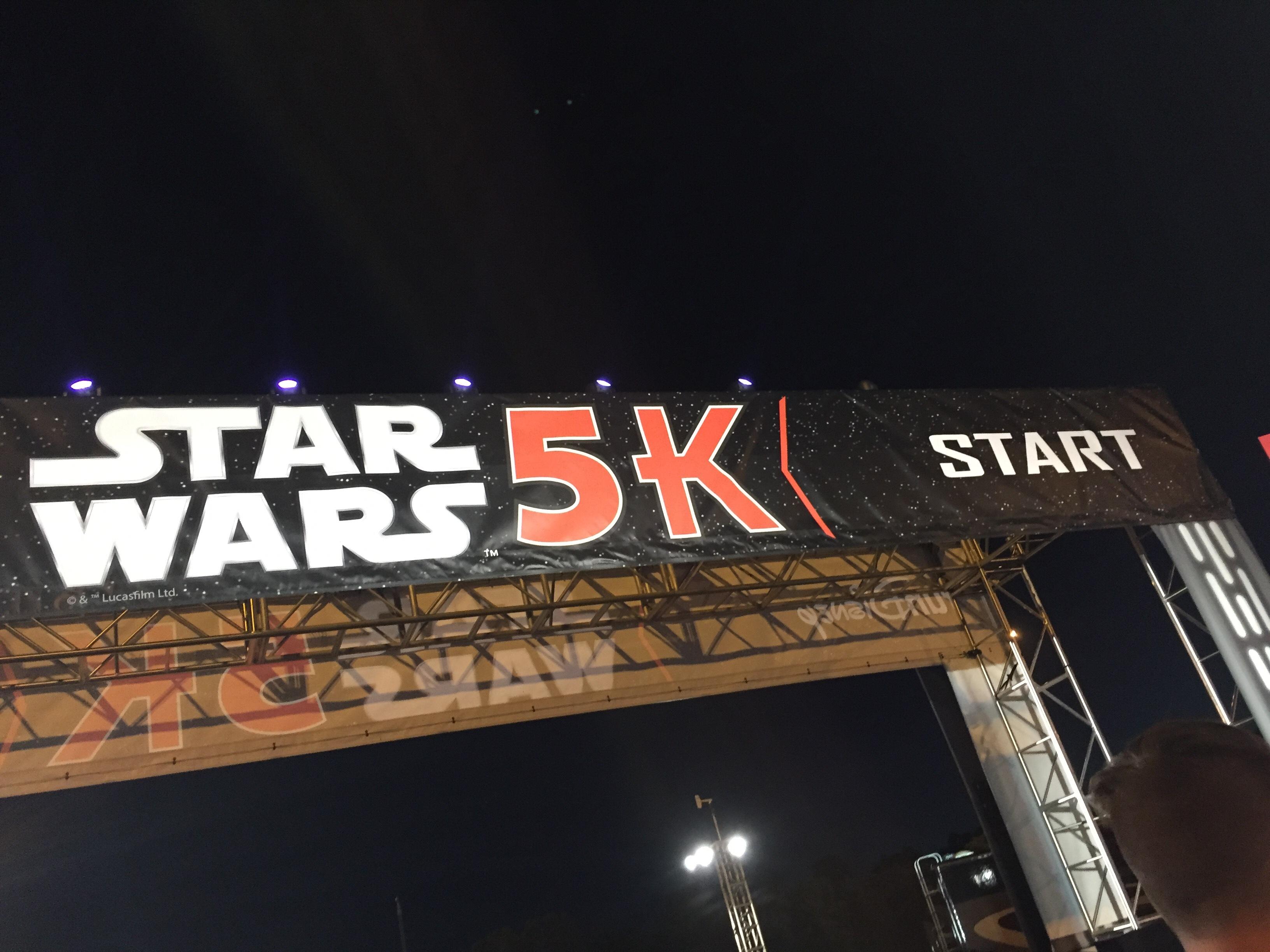 Star Wars 5k Start