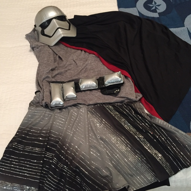 Captain Phasma Running Costume